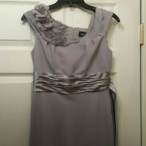 Beautiful Gray Formal Dress
